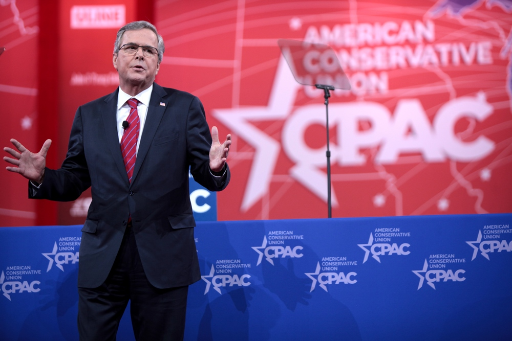 Jeb's Visit to Puerto Rico: Tell Your Friends in Florida to Vote for Me