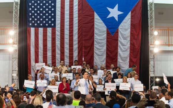 """Little Marco"" cruises past competition in Puerto Rico, wins all 23 delegates and 70% of the vote"