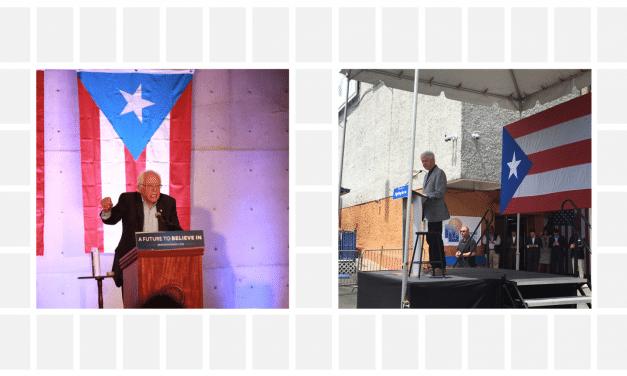 Bernie and Bill take Puerto Rico