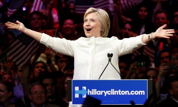 Clinton secures Democratic nomination after big wins in California, New Jersey primaries