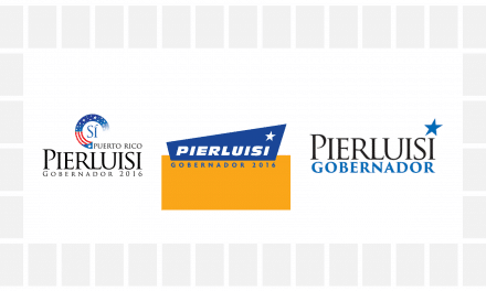 Updated logo and branding for Pedro Pierluisi's gubernatorial campaign