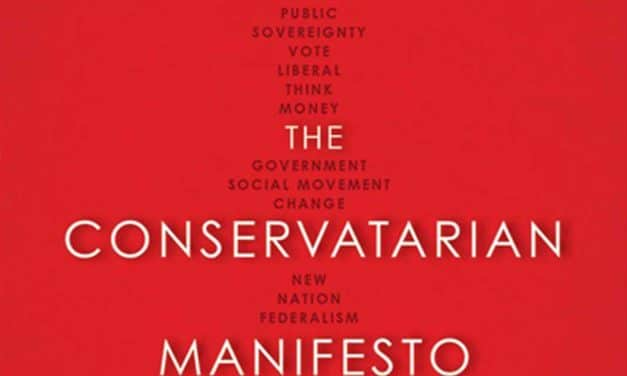 Book of the week: The Conservatarian Manifesto
