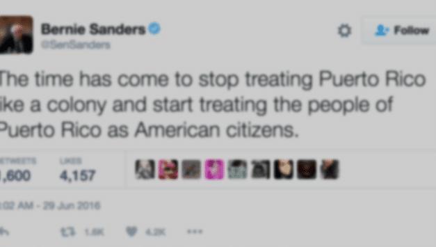 Puerto Rico's June 26-30 political week in tweets
