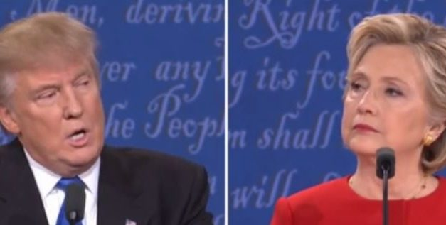 Trump manhandled by Clinton in first presidential debate