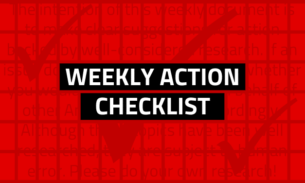 What to do this week of March 15, 2020