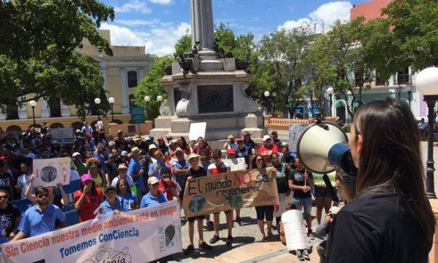 Puerto Rico shows environmental awareness in March for Science