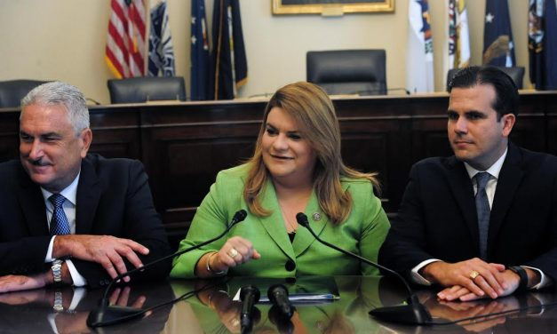 Top government leadership visits Congress to insert Puerto Rico in budgetary discussions