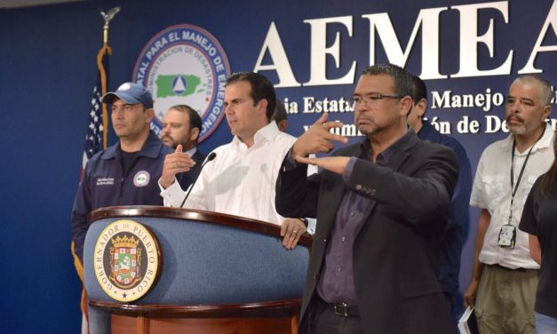 State of emergency: the path of Hurricane Irma through Puerto Rico