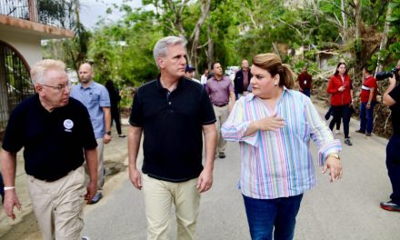 Resident Commissioner takes congressmen to Utuado to learn first-hand about the devastation