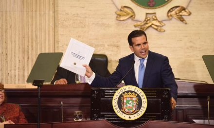 In state of the territory address, Rosselló promised pay increases, full recovery