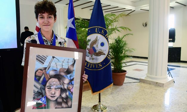 Puerto Rican student to exhibit work at the US Capitol