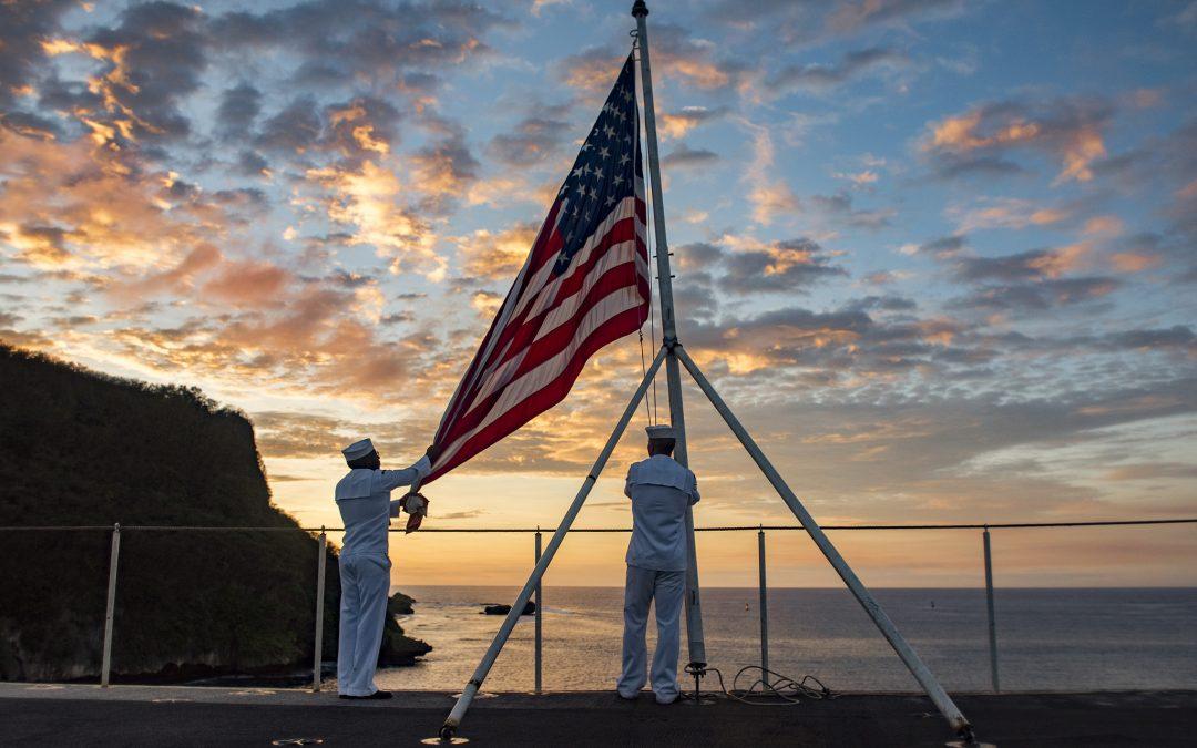 America's day begins in Guam