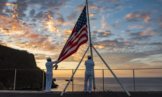 America's day begins in Guam