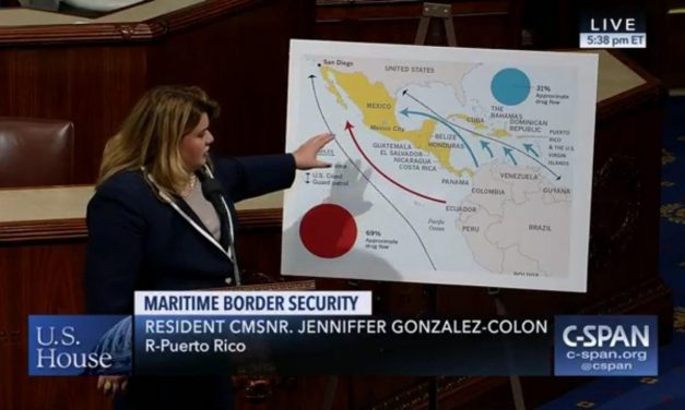 US House approves Jenniffer González-Colón's Maritime Border Security Review Act