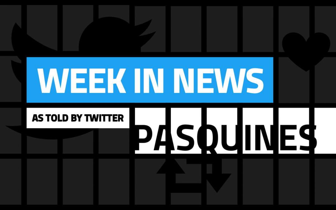 US Territories' October 28-November 3, 2019 news week in tweets