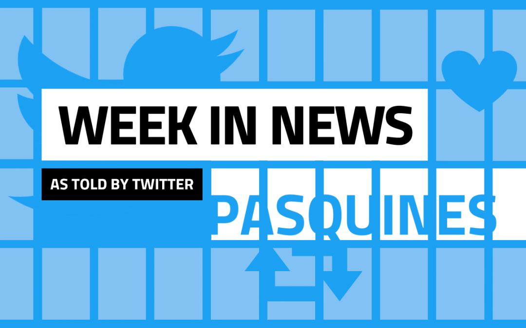 US Territories' March 8-14, 2020 news week in tweets