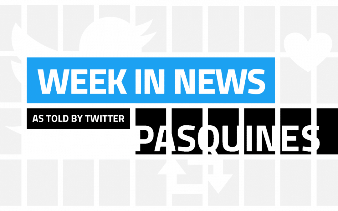 US Territories' November 4-10, 2019 news week in tweets