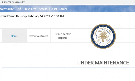 Guam government struggling to maintain websites