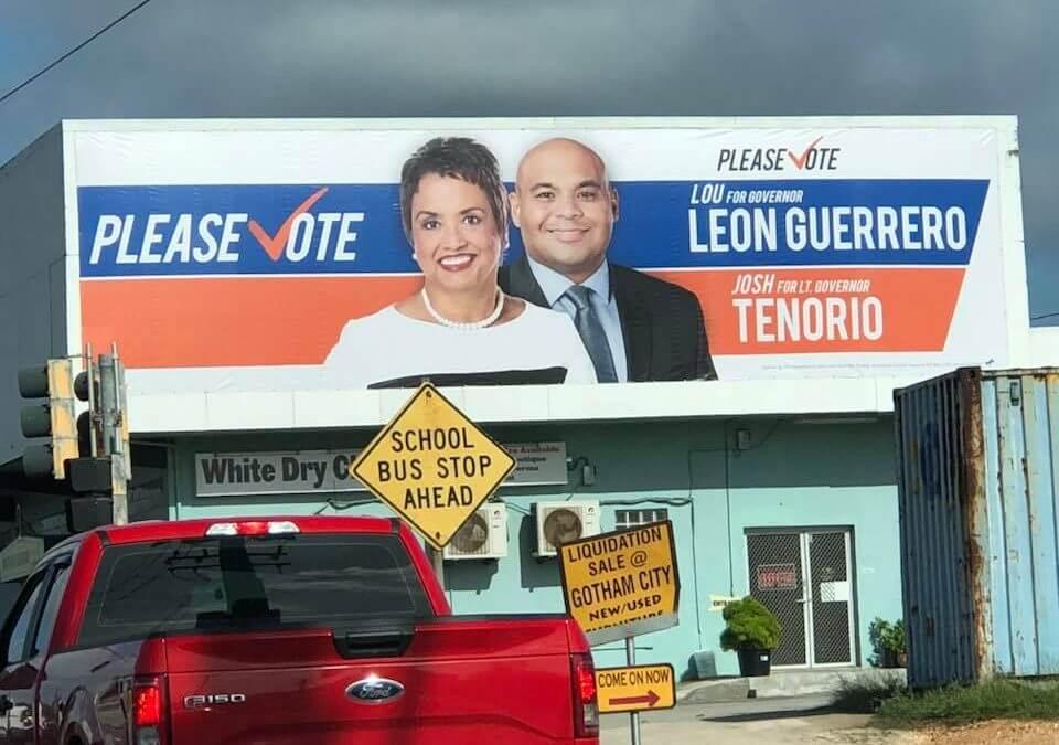 Guam's political landscape doesn't fall neatly into the Democrat-Republican binary