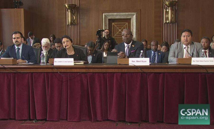 US Senate Committee on Energy & Natural Resources holds hearing on state of US territories