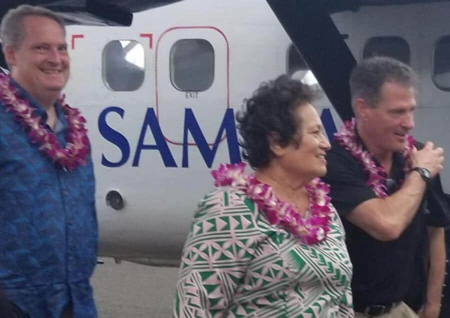 American Samoa Delegate Aumua Amata announces disaster recovery funds