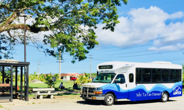 Guam slowly improves its public transit infrastructure