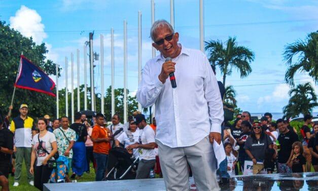 US House of Representatives delegate candidate from Guam outlines economic platform