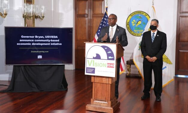 Governor Bryan, USVI Economic Development Authority to produce 20-year vision for territorial economy