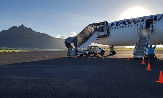 American Samoa repatriation flights begin