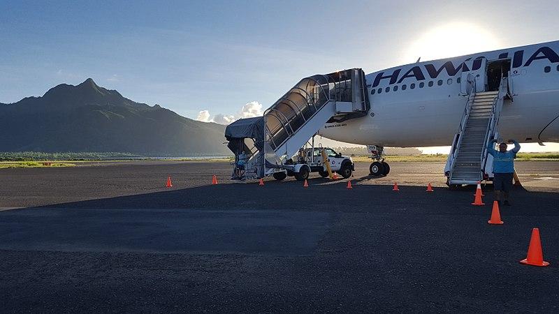 American Samoa repatriation flights begin