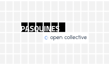 For open context: an announcement on the future of Pasquines