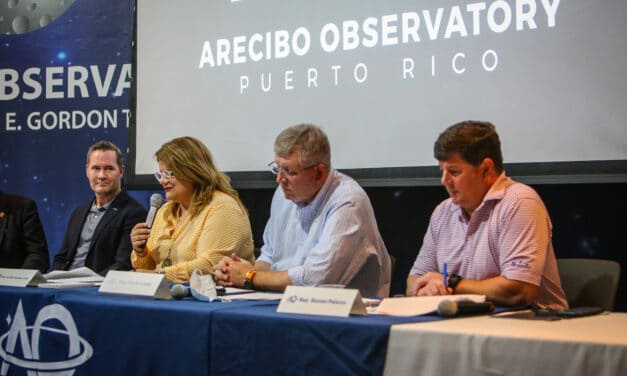 Congress takes an interest in the Arecibo Observatory